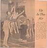 Photograph from the Intelligencer of basketball game Albert College vs Centennial Secondary. Peter Lantz with back to camera at left. 1970