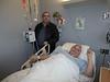 Paul Lantz with Peter Lantz at room 600 Belleville General Hospital Quinte Wing.