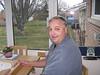 Peter Lantz in Andre's kitchen extension 2006 December 25