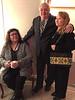 Denise Lantz, Peter lantz, Devora Hollands Gray at Andre funeral