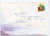 Christmas 2006 card from Jean Lantz to Peter Lantz - envelope