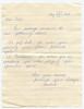 August 12 1977 (Peter's 21st birthday) handwritten note from Barbara