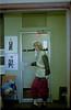 Woman by door