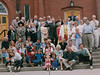 Jean Lantz 90th birthday celebration Peterborough 2003 July 12 - large group photo mounted by Stephen Vass - not mounted