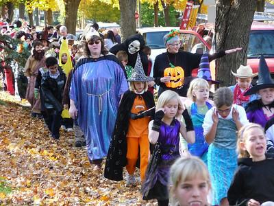 Halloween parade St. Mary's Elementary