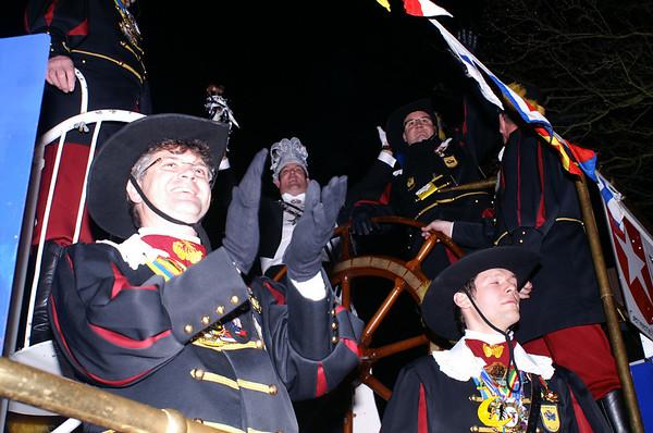 Blauw Sjuut, Ontvaangs op 't Stadhoes 2007