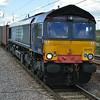 DRS liveried 66420 on 4L87 Leeds - Felixstowe