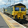 66533 cruises past with 4L85 Doncaster - Felixstowe