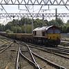 66110 TNT with 66122 on 6L95 Horrocksford Jn - Carlisle