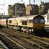 66116 heads south on 6E68 New Cumnock - Drax PS