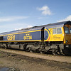 66736 sits in the sun to the north of the shed