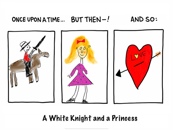 A White Knight and a Princess