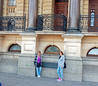 Mandela made his famous 1994 speech from this balcony