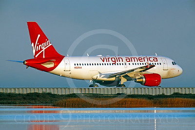 A319 00067 Airbus A319 Virgin America N525VA by Peter J Mancus
