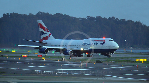 ALPN 00088 Boeing 747 British Airways by Peter J Mancus