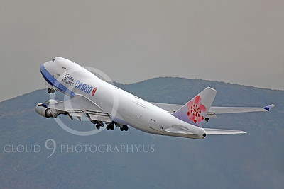 B747-C 00216 Boeing 747 China Airlines Cargo B-18723 by Peter J Mancus