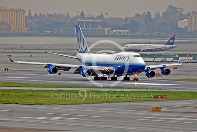 B747 00399 Boeing 747 United by Peter J Mancus