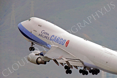 CUNAL-C 00077 Boeing 747 China Airlines Cargo B-18723 by Peter J Mancus