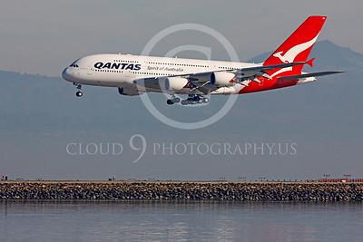 A380 00110 Airbus A380 Qantas by Peter J Mancus