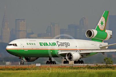 MD-11-C 00003 McDonnell Douglas MD-11 Eva Air Cargo N105EV by Peter J Mancus