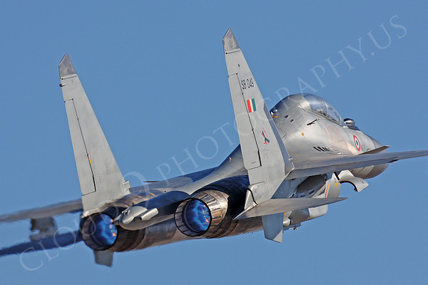 AB-Sukhoi-Su-30 Flanker 00024 AB-Sukhoi-Su-30 Flanker Indian Air Force by Peter J Mancus