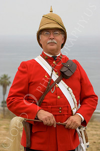HR-BE 00003 A British Empire soldier historical reenactor, by Peter J Mancus