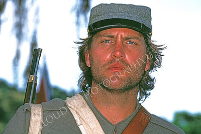 HR-ACWR 00004 A very convincing, gruffy, soiled, American Civil War rebel historical reenactor with a mild battle weary look, by Peter J Mancus