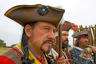 HR-PIR 00010 Three pirates reenactors, by Peter J Mancus