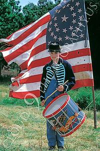 HR-ACWY 00001 A young Yankee drummer boy American Civil War historical reenactor, by Peter J Mancus
