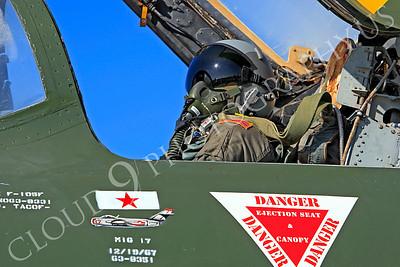 ACM 00287 USAF Republic F-105F Thunderchief pilot by Peter J Mancus