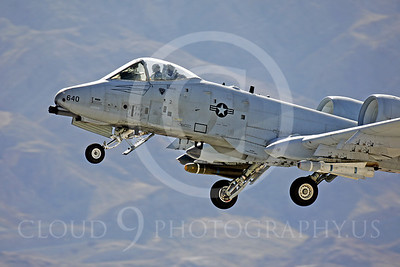 CUNMJ 00004 Fairchild A-10 Thunderbolt II USAF by Peter J Mancus