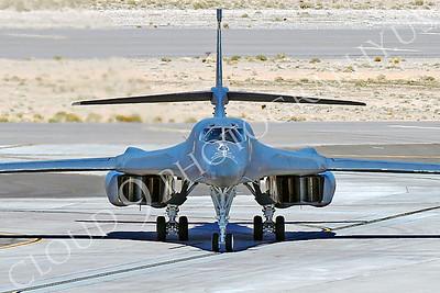 B-1USAF 00057 Rockwell B-1B Lancer USAF 86095 EL T-BIRDS by Peter J Mancus