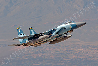 AGGR 00184 McDonnell Douglas F-15 Eagle USAF AGGRESSOR WA by Peter J Mancus