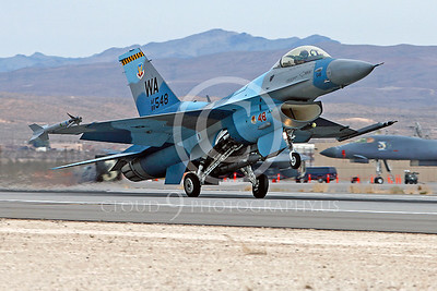 AGGR 00091 Lockheed Martin F-16 Fighting Falcon USAF 88548 WA AGGRESSOR by Peter J Mancus