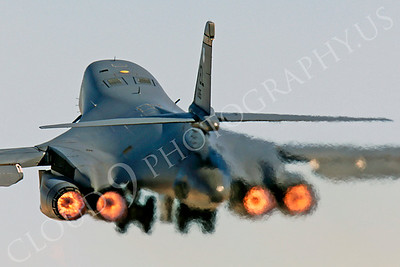 AB - B-1 00144 Rockwell B-1 Lancer USAF EL AFTERBURNER by Peter J Mancus