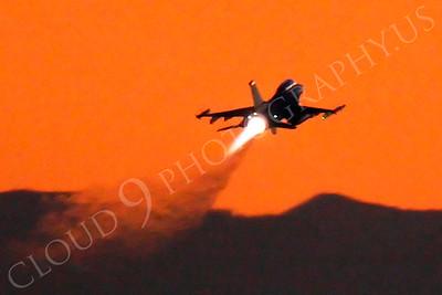 AB-F-16USAF 00284 USAF Lockheed Martin F-16 Fighting Falcon by Peter J Mancus