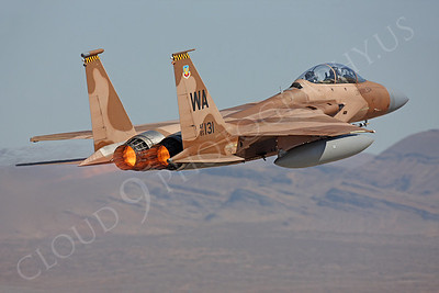 AB-F-15USAF 00011 McDonnell Douglas F-15 Eagle USAF 85131 Aggressor CRASHED by Peter J Mancus