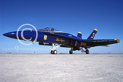 BA-F-18 00003 McDonnell Douglas F-18 Hornet by Peter J Mancus