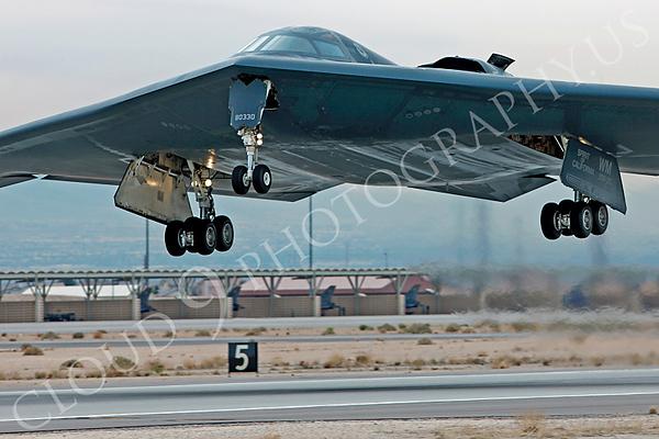 B-2 00046 Northrop B-2 Spirit USAF 80330 Spirit of California by Peter J Mancus