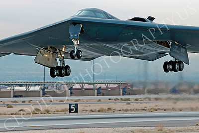 B-2 00046 Northrop B-2 Spirit USAF 80330 Spirit of California by Peter J Mancus