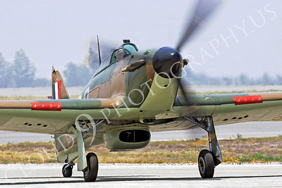 WB - Hawker Hurricane 00015 Hawker Hurricane British RAF World War II fighter warbird by Peter J Mancus