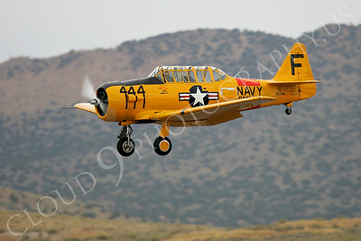 WB - 00004 North American SNJ Texan US Navy by Peter J Mancus