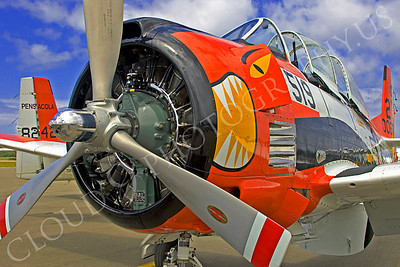 CUNWB 00027 North American T-28 Trojan by Peter J Mancus