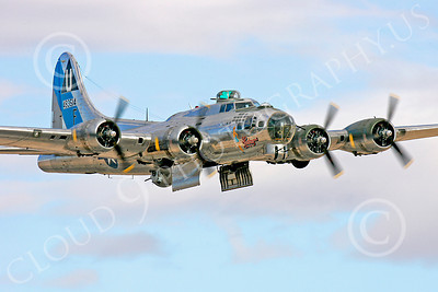WB - B-17 00160 Boeing B-17G Flying Fortress Sentimental Journey, by Peter J Mancus
