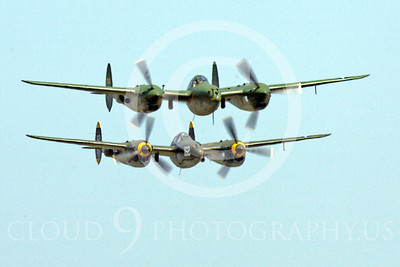 WB - Lockheed P-38 Lightning 00042 Lockheed P-38 Lightning warbirds by Peter J Mancus