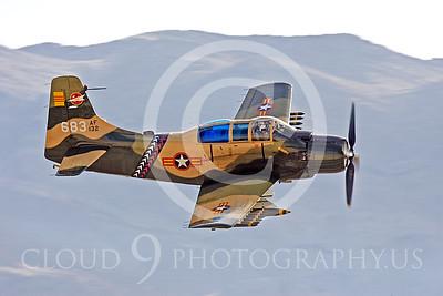 WB-A-1 00108 Douglas A-1 Skyraider by Peter J Mancus
