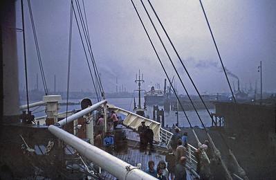 Tilbury Docks, SS Baltika. 15 Aug 1969, 0700