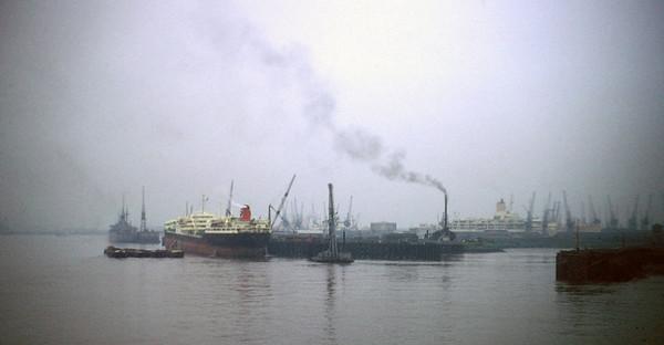 Leaving Tilbury Docks