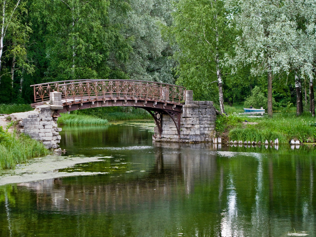 White Lake, left bridge