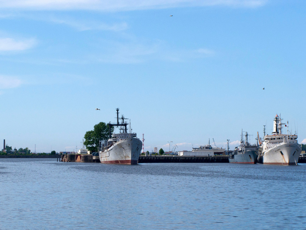 Warships in the roads-2
